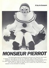 PIERROT doll vintage diagramme sewing pattern instructions S10035
