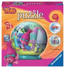 Ravensburger 12197 High Quality Children Trolls 3D Puzzle 72 Piece Jigsaw Puzzle