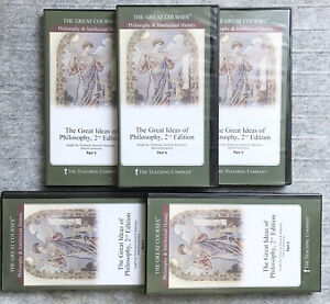 Great Courses : Great Ideas of Philosophy, 2nd Ed : 10-DVD Set w Books