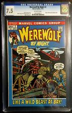 WEREWOLF BY NIGHT #2 CGC 7.5 GERRY CONWAY MIKE PLOOG ORIGIN MARVEL COMICS 1972