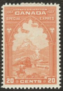 Canada Stamps # E3, 20¢, 1922, lot of 1 mint no gum stamp.