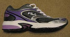 Women's FILA 6 DLS Artifice running shoes sneaker purple white black UK 3.5