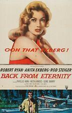 Back From Eternity 1960 -16mm Feature Film-RKO --Director John Farrow