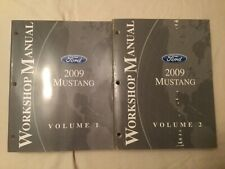 2009 Ford Mustang Workshop Manual