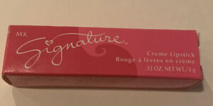Mary Kay MK Signature Pink Coral Creme Lipstick Lip Color. Pretty Shade .13oz