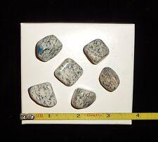 DINO: 6 Rare K-2 (Afghanite in Granite) Polished Stones 42 gr. Crystal Healing