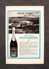 [GCG] M772 - Advertising Pubblicità - 1964 - ASTI SPUMANTE FONTANAFREDDA , ALBA
