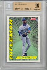 1991 Score Ken Griffey Jr. (HOF) (Rifleman) (#697) (Population of 1) BGS10 BGS