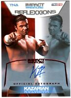 TNA Kazarian 2012 Reflexxions RED Authentic Autograph Card SN 15 of 25