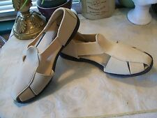 Comfort Ease Canvas Strappy Slip On Casuals SZ 6M Color:  Khaki....New