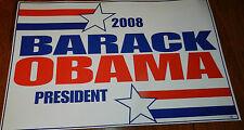 2008 BARACK OBAMA FOR PRESIDENT ORIGINAL CAMPAIGN RALLY SIGN POSTER