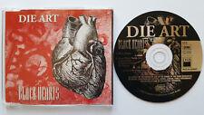 █▬█ Ⓞ ▀█▀ Ⓗⓞⓣ Black Hearts Ⓗⓞⓣ DIE ART Ⓗⓞⓣ 2 Track CD 1993 Ⓗⓞⓣ MEGARAR !