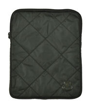 Moncler Green Quilted Porta Tablet iPad Case New $180