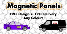 Magnetic vehicle signs car/ van / lorry - pair of signs 450 mm x 300 mm