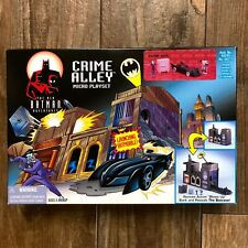 1998 The New Batman Adventures Crime Valley Micro Playset Kenner