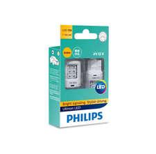 WY21W Philips Ultinon LED Amber turn signal bulbs 11065ULAX2 smartCanbus WX3x16d