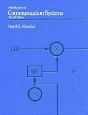Introduction to Communication Systems by Ferrel G. Stremler (1990, Paperback,...