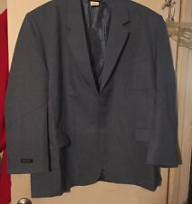 Habands Men's Size 54R Blue 2 Button Blazer Sport Coat Suit Jacket NWOT