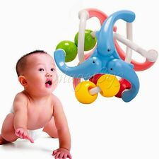 Exercise Ball Melodious Sound Infant Kids Catch Crawl Toys Gift Bell Rattles