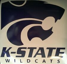 Kansas State Wildcats Vinyl DECALS - 2 CORNHOLE DECALS  Vinyl Decals Stickers