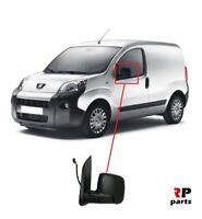 FOR PEUGEOT BIPPER, CITROEN NEMO 07-18 WING MIRROR ELECTRIC HEATED LEFT N/S LHD