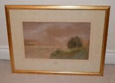 BeautifulStudy of Estuary scene with Boats Signed Watercolour