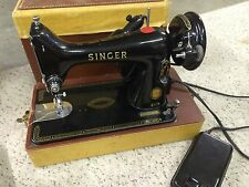 Vintage Singer Model 99K Sewing Machine In Working Condition