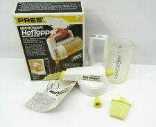 Vintage Presto Microwave Hot Topper Butter Melter Dispenser 03050 Complete w Box