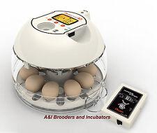 RCOM R-COM Pro 10 Plus PX-10P  INCUBATOR AUTOMATIC built-in Egg Scope WARRANTY