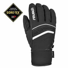 Reusch Bellano GTX Men's Gore Tex Black White Snow Ski Glove brand new Size 10.5