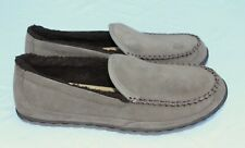 LL Bean Size 10 M Brown Suede Mountain Slip Resistant Slippers NWOB NEW