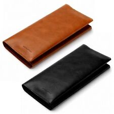 Magnetic Soft Genuine Leather Flip Card Zipper Wallet Case Cover For iPhone S001