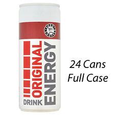 EURO SHOPPER ORIGINAL ENERGY DRINKS 250ml x 24 CANS WHOLESALE STOCK 225186 GYM