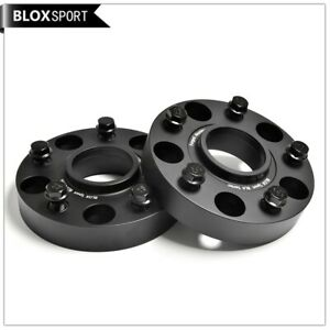 5x108 Black Wheel Spacers 2pc 30mm for Volvo XC90 XC60 XC40 V60 V60CC V90 CB63.3