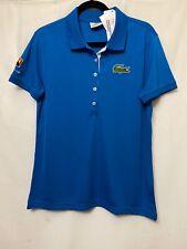 Lacoste Australian Open Polo Shirt Women ~ Sz 48 ~ New w/ Tags Short Sleeves Top