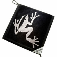 Authentic New Frogger Amphibian Golf Towel - You Choose the Color + Bonus!