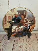 Scarlett Gets Down to Business Gone with the Wind ~1992 Bradford Exchange Plate