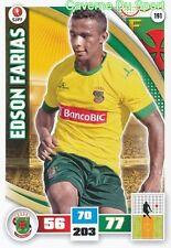 191 EDSON FARIAS BRAZIL FC.PACOS DE FERREIRA CARD ADRENALYN LIGA 2016 PANINI