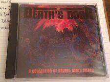AT DEATH'S DOOR CD OOP1990 RR 9362-2 NEW SEALED deicide exhorder believer sadus