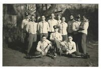 Foto, Soldatengruppe in Uniform, Mütze