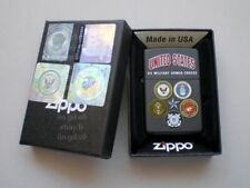 ZIPPO ★ U.S. MILITARY ARMED FORCES