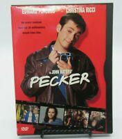 PECKER DVD MOVIE, EDWARD FURLONG, CHRISTINA RICCI, MARTHA PLIMPTON, WS, SNAPCASE