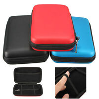 Red EVA Skin Hard Handy Carry Case Bag Pouch for Nintendo 3DS XL LL with Strap