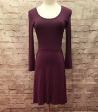 dbbda40e5d8 American Eagle Soft   Dress Purple Long Sleeve Side Cut Outs Size S