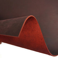 Usa Rustic Red Leather Cow Hide Crazy Horse Diy Crafts/Tooling 2.0mm thick