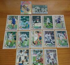 Las fichas de la liga. Mundicromo. Real Madrid. Liga 1997-98