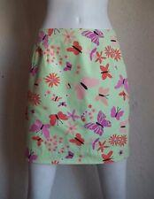 LILLY PULITZER Fresh Flower & Butterfly Retro Pastel Cotton Print Mini Skirt 4