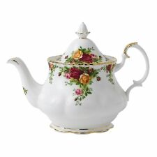 "Royal Albert Old Country Roses Teapot & SERVING TRAY 13"" NEW"