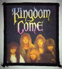 KINGDOM COME Patch VINTAGE 80er 90er Aufnäher HARD ROCK LED ZEPPELIN