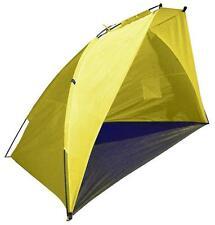 GIALLO A CUPOLA spiaggia tenda 2.1 Metri POP UP SOLE Rifugio FESTIVAL & da pesca